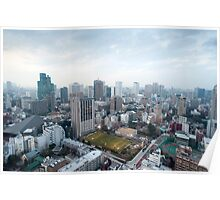 urban tokyo Poster