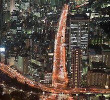 Tokyo Streets at Night by photoeverywhere