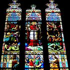 Stained Glass in St. Patrick's Cathedral - NYC by australiansalt