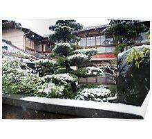 tokyo winter Poster