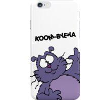 Eek the Cat - Koom-Bye-Ya - White Font iPhone Case/Skin