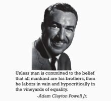 Adam Clayton Powell by BlackMatters