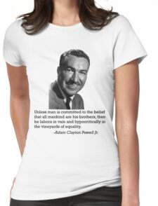 Adam Clayton Powell Womens Fitted T-Shirt