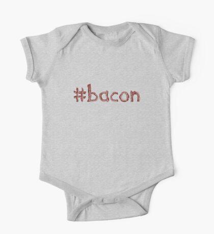 #Hashtag Bacon One Piece - Short Sleeve