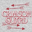 CRIMSON GUARD sigil with arrows fanart 2 by jazzydevil
