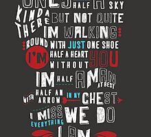 Half A Heart Lyrics from Tumblr by ZoooGeee