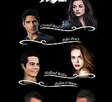 Teen Wolf Cast Case by dman91