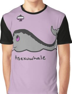 Original Asexuwhale Graphic T-Shirt
