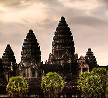 Sunrise: Angkor Wat, Cambodia by thewaxmuseum