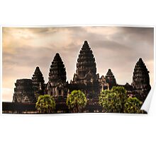 Sunrise: Angkor Wat, Cambodia Poster