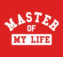 Master of my life Kids Clothes