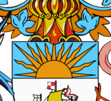 Bahamas Coat of Arms  Sticker