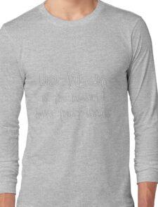 Joss Whedon - Trust Issues Long Sleeve T-Shirt