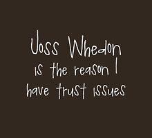 Joss Whedon - Trust Issues T-Shirt