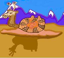 Bactrian Snail Camel by pinkyjainpan