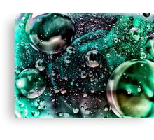 abstract bubbles Canvas Print