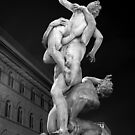 Violence in the Piazza by Chris Allen