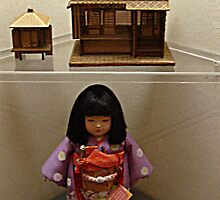 Mini Miss Mie and Japanese Home display by Jane Neill-Hancock