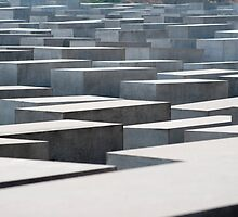 Stelae at the Holocaust Memorial by photoeverywhere