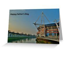 Millennium Stadium, Cardiff - Father's Day Card Greeting Card