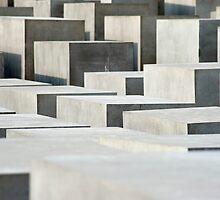 holocaust memorail blocks by photoeverywhere