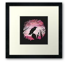 The Raven  Framed Print