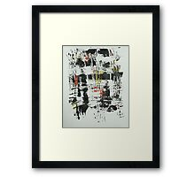 Untitled Abstract Study 30 Framed Print