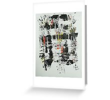 Untitled Abstract Study 30 Greeting Card