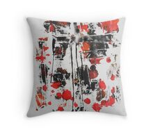 Untitled Abstract Study 32 Throw Pillow