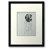 Untitled Abstract Study 34 Framed Print
