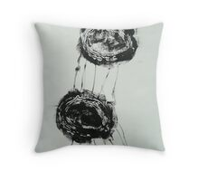 Untitled Abstract Study 35 Throw Pillow