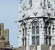 Detail of the Gothic Tower in Cardiff Castle by photoeverywhere