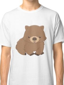 Cute Kawaii Wombat Classic T-Shirt