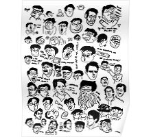 Warm Up Sketches - Markiplier Poster
