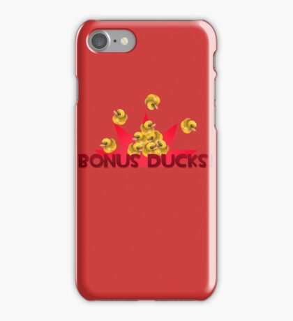 Team Fortress 2 - Bonus Ducks! (Red) iPhone Case/Skin