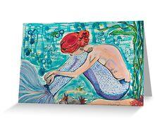 Dream on Aquarius Greeting Card