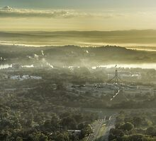 Middle earth... no wait, it's Canberra. by Candy Jubb