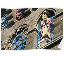Cardiff Castle clock Poster