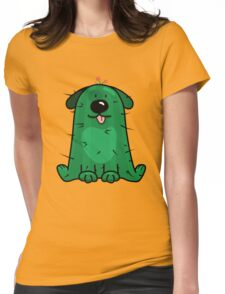 Hi! Do you like cactus? Womens Fitted T-Shirt