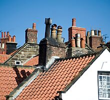 Cottage chimneys by photoeverywhere