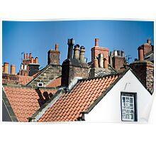 Cottage chimneys Poster