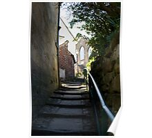 Steps to the congregational church Poster