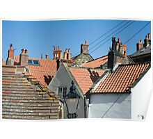 Cottage rooves Poster