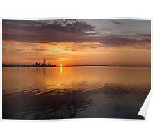 Toronto's Skyline at Sunrise Poster