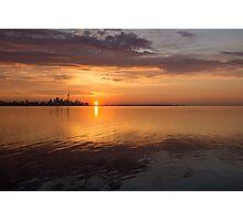Toronto's Skyline at Sunrise Photographic Print
