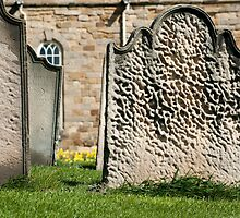 Gravestones at St Marys Church by photoeverywhere