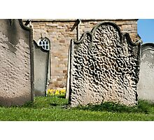 Gravestones at St Marys Church Photographic Print