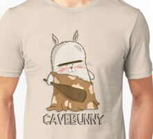 Big grumpy cavebunny Unisex T-Shirt