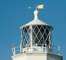 Lizard Lighthouse lantern by photoeverywhere