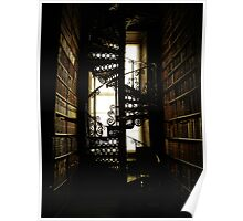 Library Staircase Poster